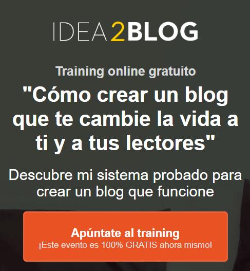 Curso online Idea2Blog de Ángel Alegre