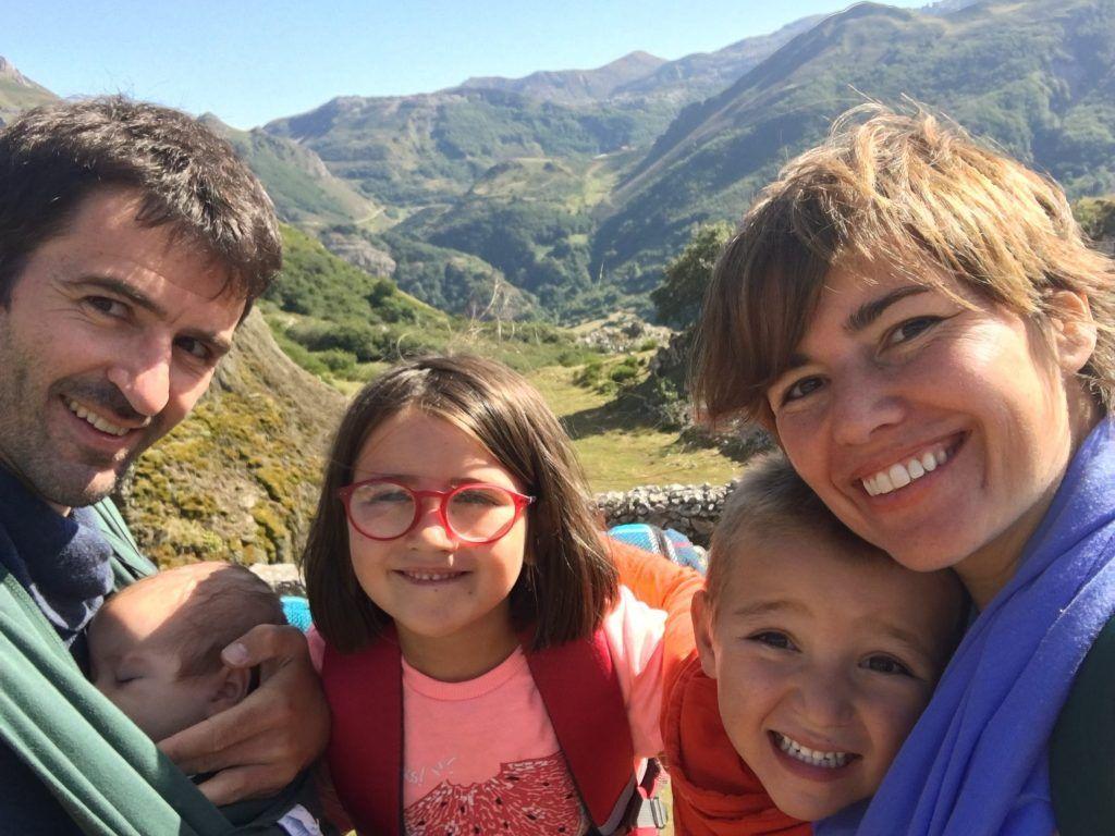 Mi familia feliz en Asturias