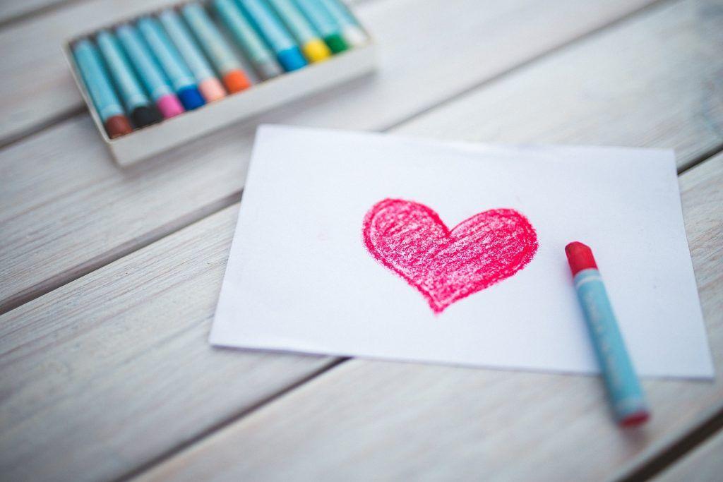 Expresar sentimientos abriendo el corazón