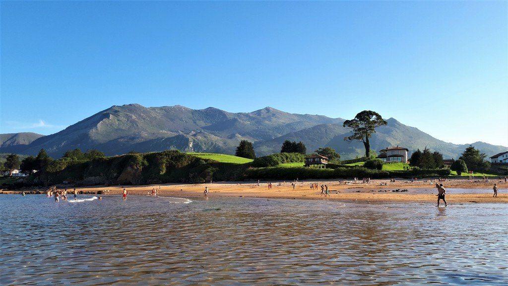 Vacaciones en playa de Asturias